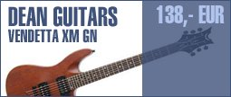 Dean Guitars Vendetta XM Satin Natural