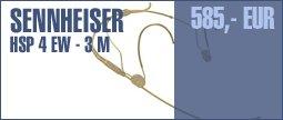 Sennheiser HSP 4 EW-3 M Beige