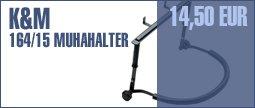 K&M 164/15 Harmonica Holder