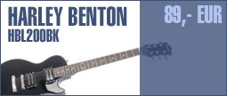 Harley Benton L-200 BK Student Series