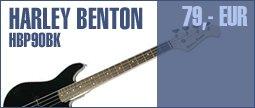 Harley Benton PB-Shorty BK Standard Series