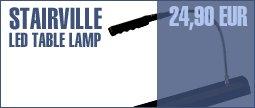 Stairville LED Gooseneck Table Lamp