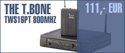 the t.bone TWS 16 PT 800 MHz