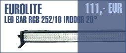 Eurolite LED Bar RGB 252/10 Indoor 20°