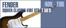 Fender Squier Classic Vibe Strat 50's
