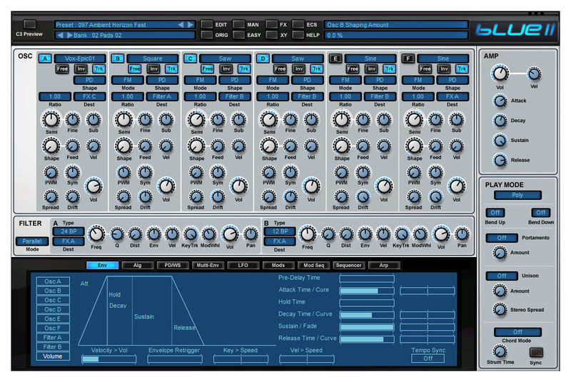Blue II Rob Papen
