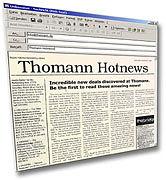 Thomann Hotnews Nyhetsbrev