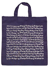 Vienna World Cotton Bag Navy
