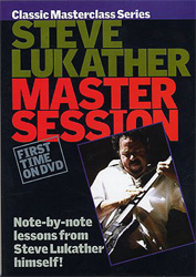 Music Sales Steve Lukather Master Session