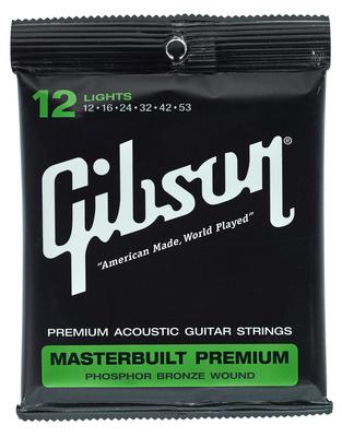 Gibson MB12 Masterbuilt Premium Akustiksaiten 012-053