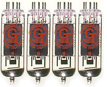 Groove Tubes EL84-S Quartett