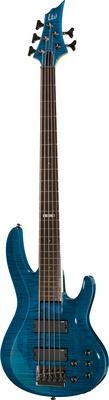 ESP LTD B-155DX See Thru Blue