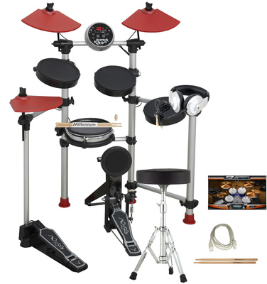 Millenium HD-100 E-Drum complete Set