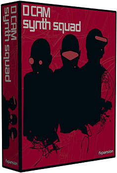 FXpansion DCAM: Synth Squad