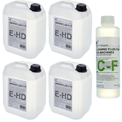 Stairville E-HD Fluid 4x 5l Bundle