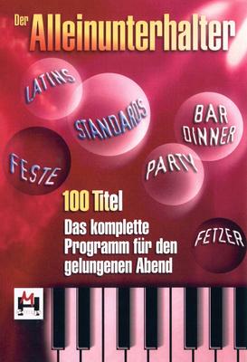 Hildner Musikverlag Der Alleinunterhalter