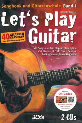 Hage Musikverlag Let's Play Guitar Vol.1