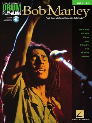 Hal Leonard Drum Play Along Bob Marley