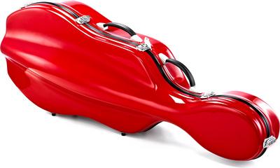 Roth & Junius RJCC-3/4RD Cello Case Red