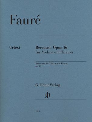 Henle Verlag Fauré Berceuse op.16