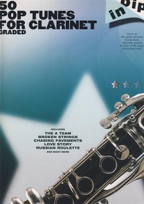 Hal Leonard 50 Graded Pop Clarinet Solos