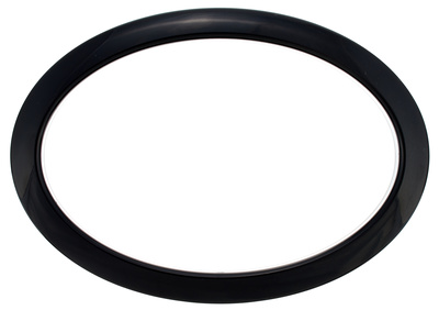 "Bass Drum O's 6"" Black Oval HOBL6"